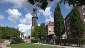 St Michaelis,汉堡 影视素材