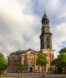 St. Michaelis Church in Hamburg, Germany Stock Images