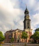 St. Michaelis Church in Hamburg, Germany Stock Images