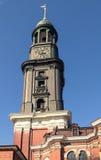 Hamburg's main church St. Michaelis Royalty Free Stock Photos