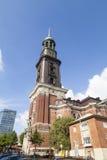 St. Michaelis in Hamburg Stock Images