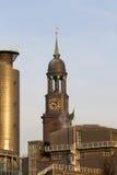 St.-michaelis kyrka, Hamburg Arkivfoton