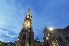 St- Michaelkirche, Bordeaux, Lizenzfreie Stockfotos
