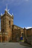 St Michaels教会在Linlithgow镇  免版税库存图片