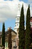 St. Michaels教会查尔斯顿南卡罗来纳 库存照片