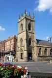 St Michaels教会,彻斯特 库存照片