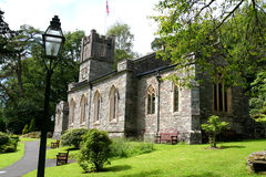 St Michaels, Rydal。 库存照片