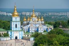 St Michaels Cathedral Kiev - in Ucraina immagini stock libere da diritti