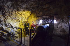 St michaels cave gibraltar Royalty Free Stock Image
