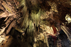 St. Michaels Cave In Gibraltar Stock Image