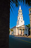 St. Michaels Church. In Charleston, SC Stock Images