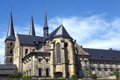 St Michaels church in Bamberg. St Michaels church an old Abbey church in Bamberg Germany Stock Image