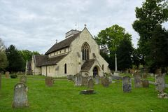 St Michaels Church, Betchworth, Surrey, het UK royalty-vrije stock fotografie