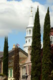 St. Michaels Church Charleston South Carolina stock foto's