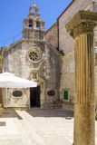 St Michaels Church, Korcula Stock Images