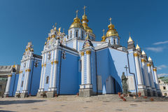 St Michaels golden domed monastery Royalty Free Stock Photos