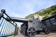 St michaels jama Gibraltar Obrazy Royalty Free