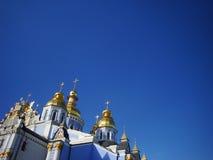 St Michaels kathedraal in Kiev Royalty-vrije Stock Afbeeldingen