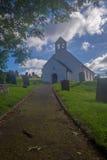 St Michaels kościół, Penbryn Zachodni Walia fotografia stock