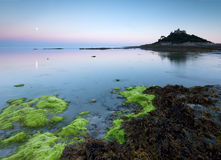 St Michaels Mount. Scenic view of St Michael's Mount, Marazion, Cornwall, England Stock Photos