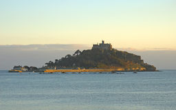 St Michaels Mount. Cornwall, United Kingdom stock images