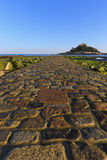 St Michaels Mount Causeway Royalty Free Stock Photos