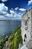 St Michaels Mount, Cornwall royaltyfri fotografi