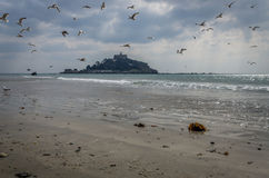 St Michaels mount, Cornwall, england uk Royalty Free Stock Image
