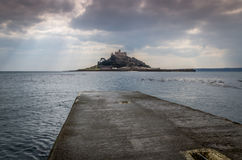 St Michaels mount, Cornwall, england uk Royalty Free Stock Photo