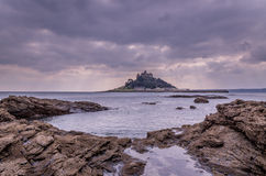 St Michaels mount in cornwall, england, uk Stock Photos