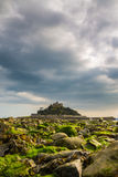 St Michaels Mount, an iconic Cornwall landmark Royalty Free Stock Photo
