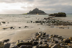 St. Michaels Mount from Marazion Royalty Free Stock Photo