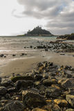 St. Michaels Mount from Marazion Royalty Free Stock Image