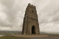 St Michaels Tower, Glastonbury Tor Fotografering för Bildbyråer