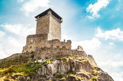 St. Micheal Castle in Ossana Royalty Free Stock Photography