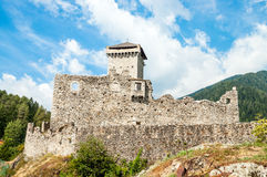 St. Micheal Castle in Ossana Royalty Free Stock Photos