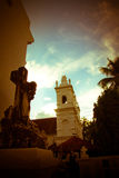 St. Micheal's Chapel in Anjuna, Goa, India Stock Image