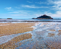 St Micheal`s Mount Cornwall England Royalty Free Stock Photography