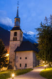 St Michel Church in Chamonix Stock Image