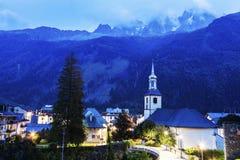 St Michel Church in Chamonix Royalty Free Stock Image