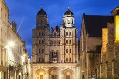 St. Michel Church in Dijon lizenzfreies stockbild