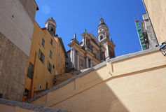 St michel church in menton Stock Image