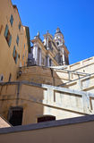 St michel church in menton Royalty Free Stock Images
