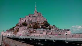 St Michel di Mont immagini stock