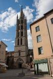 St. Michel kerk in Limoges Royalty-vrije Stock Foto's