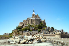 The St Michel Mount Stock Photography