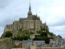 St Michel - Normandia - Francia del supporto Immagine Stock Libera da Diritti