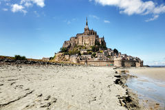 St Michel Normandy France de Mont Fotografia de Stock Royalty Free