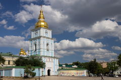 St. Michel's monastery in Kiev Stock Photos
