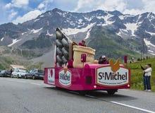 St Michel Vehicle - Ronde van Frankrijk 2014 Stock Afbeeldingen